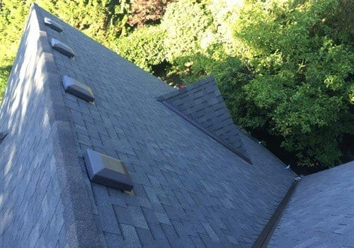 steep slope shingle install