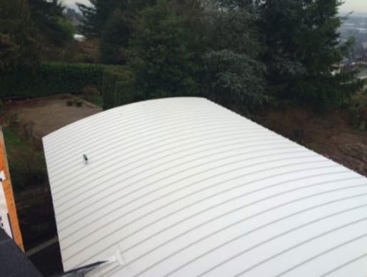 commercial roofing project at rumble street in Burnaby
