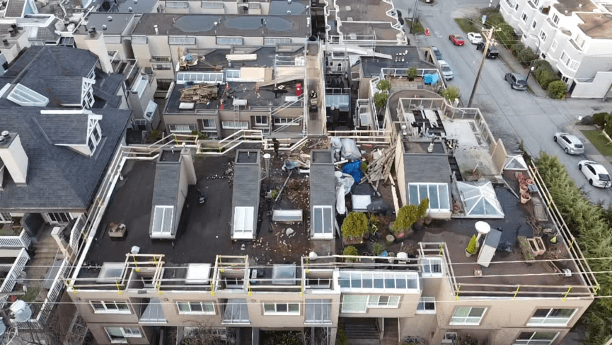 learn why flat roofs are common on commercial buildings in Vancouver