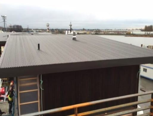 installed roof for 8000 sf in richmond